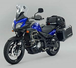 Suzuki DL650 V-Strom Voyager Pack (2013)