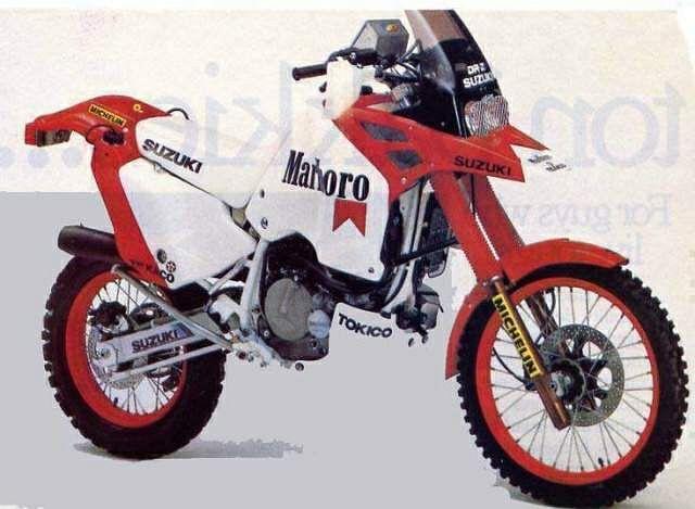 Suzuki DRZ 800 Paris Dakar (1988)