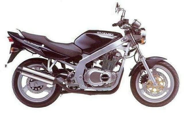 Suzuki GS500E (1999-01)