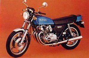 Suzuki GS 500E (1976)