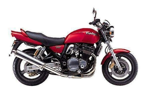 Suzuki GSX1200 (1998-02)