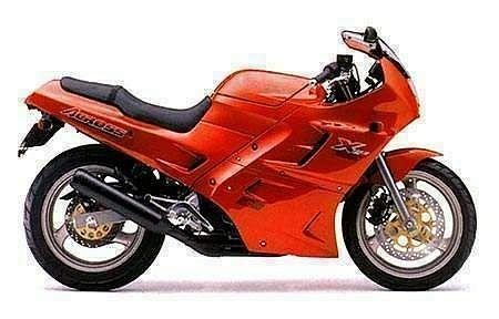 Suzuki GSX250F Across (1990-91)