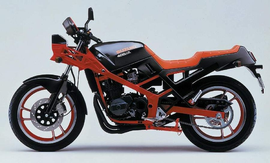 Suzuki GSX400X Impulse (1986-87)