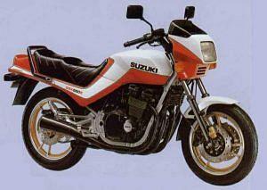 Suzuki GSX550E (1983)