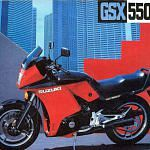 Suzuki GSX550EF (1984-86)