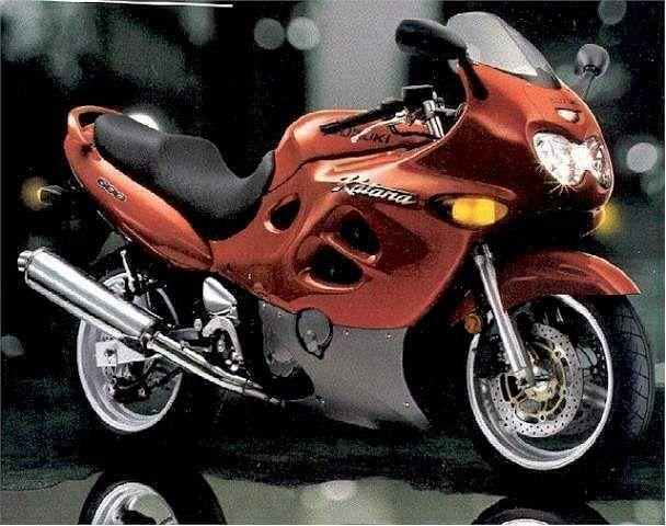 Suzuki GSX 600F Katana (1998-99)