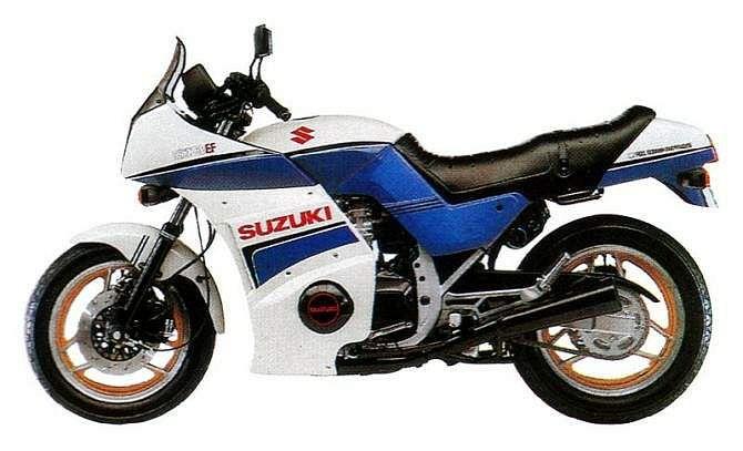 1985 Suzuki GSX 750 EF - Moto.ZombDrive.COM