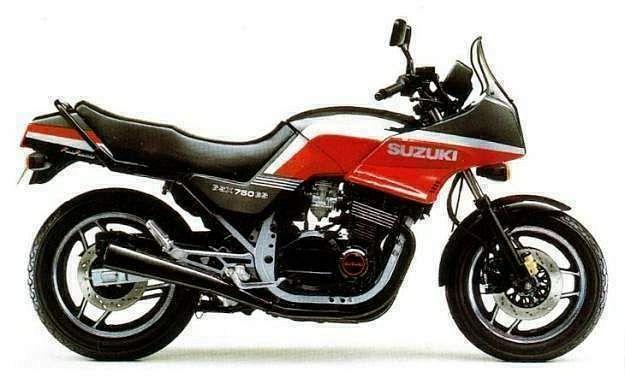 Suzuki GSX750ES (1986-87)