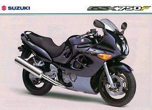 Suzuki GSX750F Katana (2004-05)