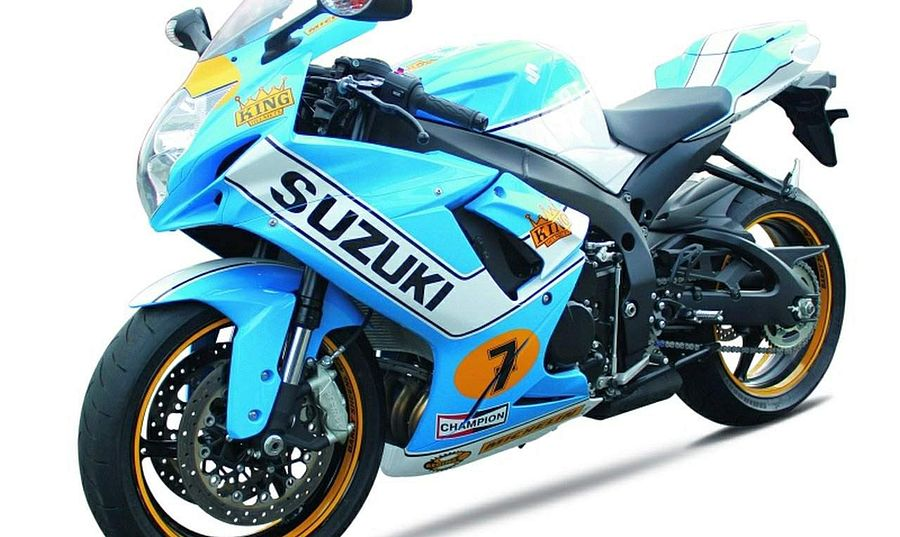 Suzuki GSX-R 750 Sheene Limited Edition (2013)