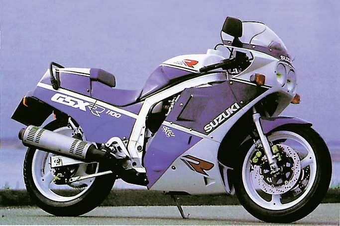Suzuki GSX-R 1100J (1988)