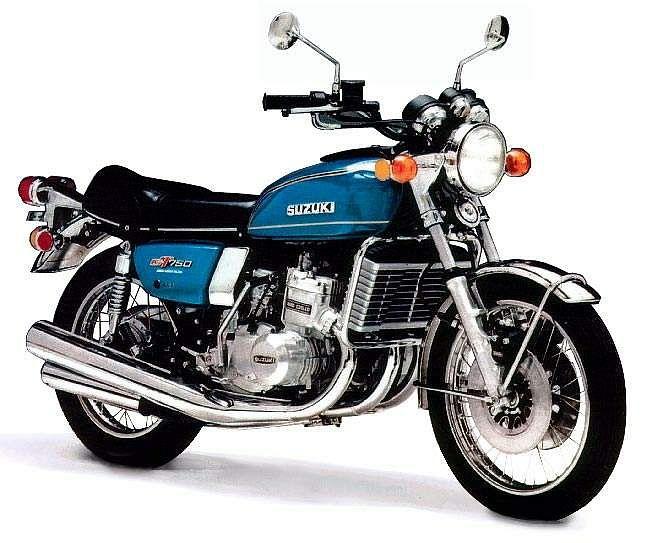Suzuki GT750 (1975-76)
