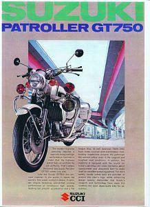 Suzuki GT750 Patroller (1975)