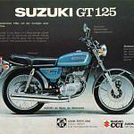 Suzuki GT125M (1974-77)