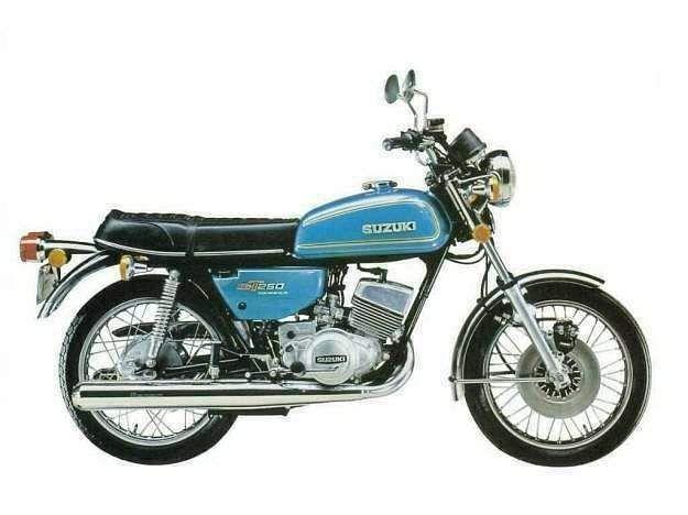 Suzuki GT250 (1975)