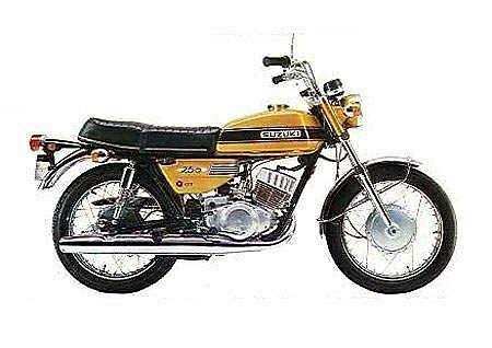 Suzuki GT250 (1974)
