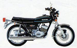 Suzuki GT250 (1976-77)