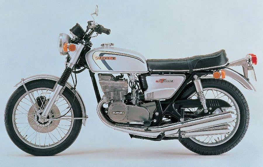 Suzuki GT380 (1974)