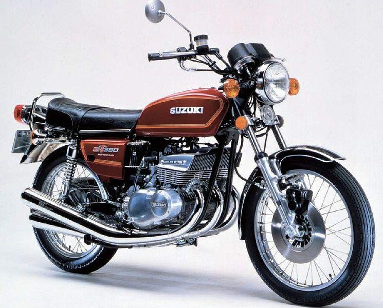 Suzuki GT380 (1977)