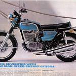 Suzuki GT550 (1970-71)