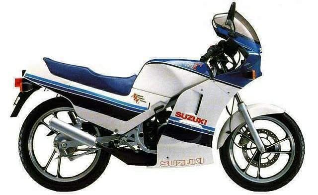 Suzuki RG125 Gamma (1986-87)