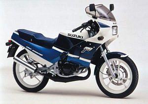 Suzuki RG125 Gamma (1988-91)