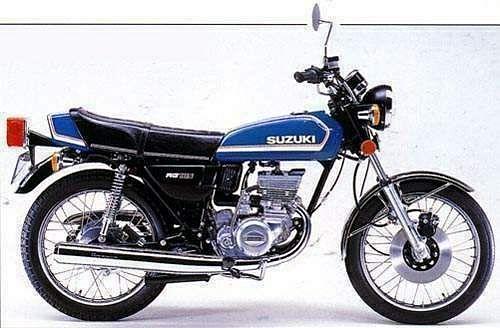 Suzuki RG 185 (1978-79)