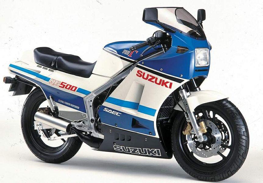 Suzuki RG 500 Gamma (1986) - MotorcycleSpecifications.com