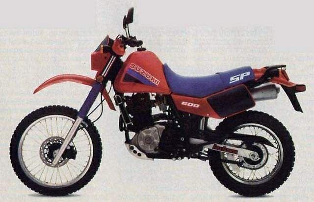 Suzuki SP600 (1985)
