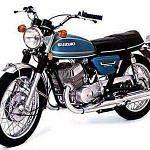 Suzuki T 500 (1974-75)