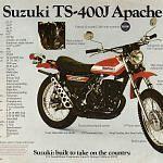 Suzuki TS400J (1972-73)