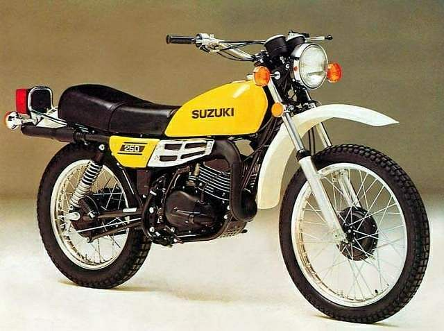 Suzuki TS250 (1976-77) - MotorcycleSpecifications com