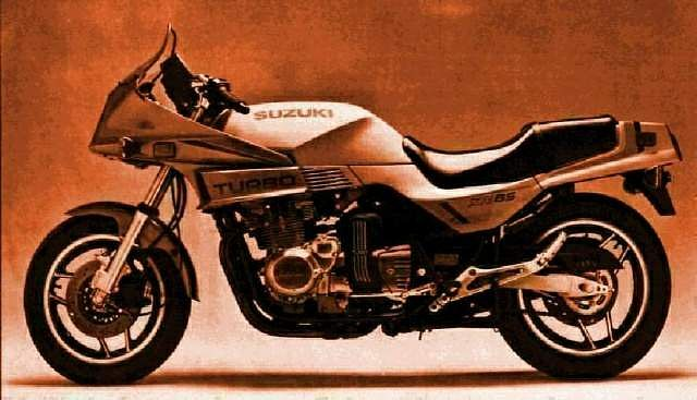 Suzuki XN85D Turbo (1983-85)