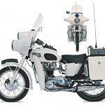 Triumph T120 Bonneville Police (1966)