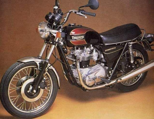 Triumph Bonneville 750 T140E Final Edition (1981)