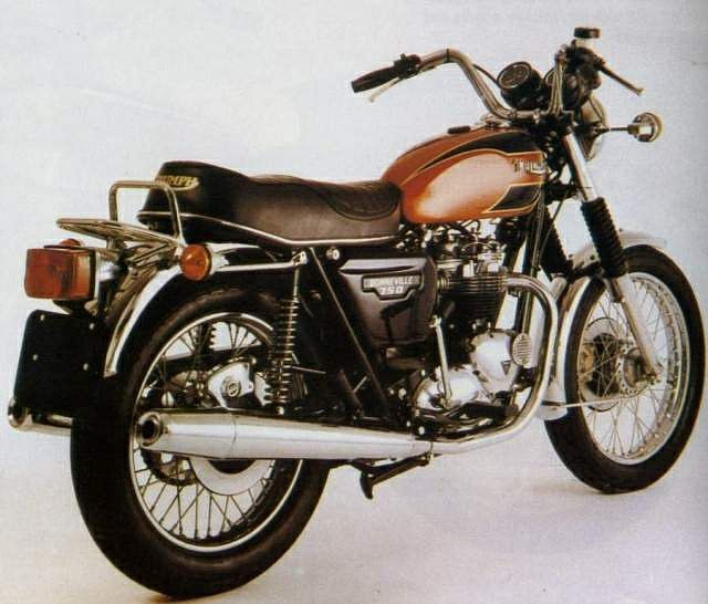 Triumph Bonneville 750 T140E America (1979)