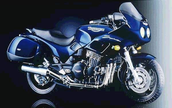 Triumph Sprint 900 Exclusive (1998)