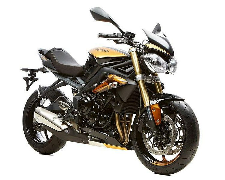 Triumph Street Triple Gold 10th Anniversary SE (2017)