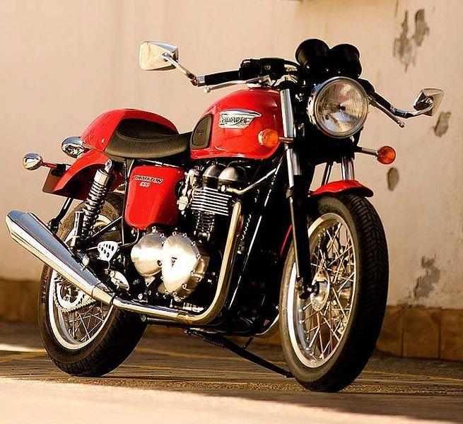 Triumph Thruxton 900 (2009)