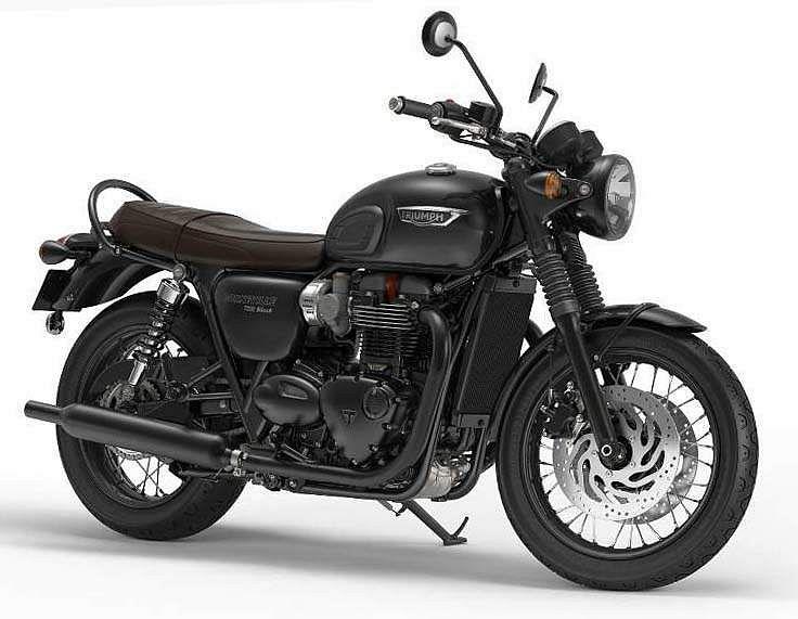Triumph Bonneville T120 Black (2016-17)