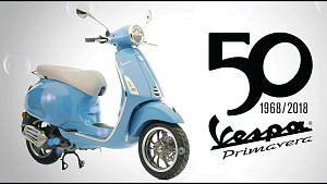 Vespa Primavera 50 50 50th Anniversary Special Edition (2018)