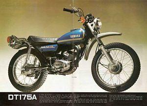 Yamaha DT 175 (1974-75)