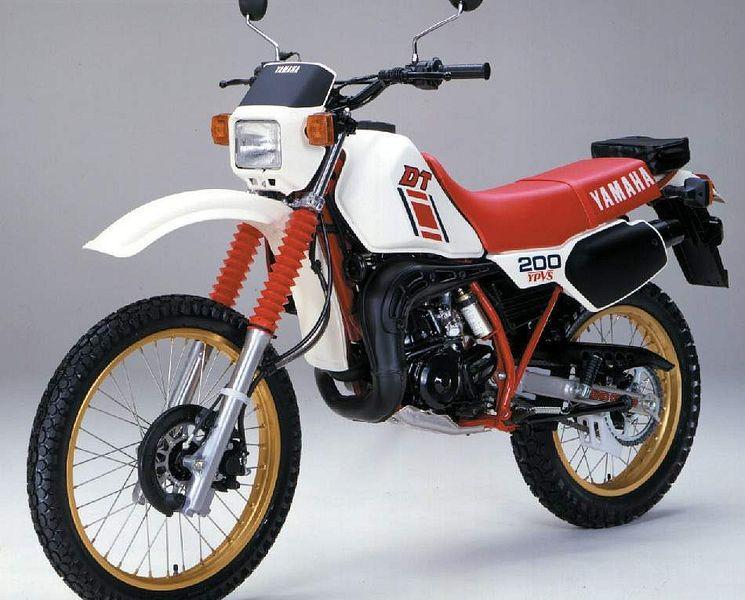 Yamaha DT 200R (1984-85)