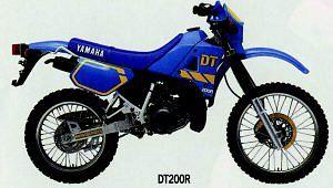 Yamaha DT 200R (1990)