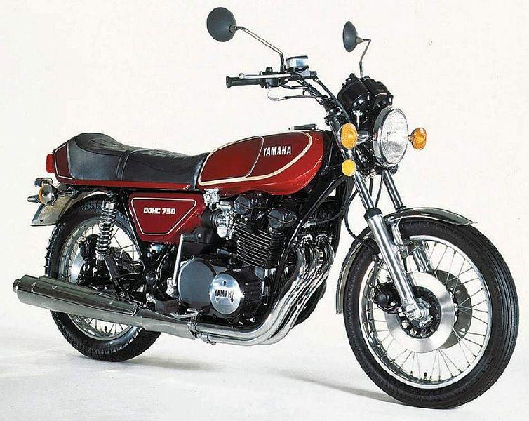 Yamha GX750 (1976-77)