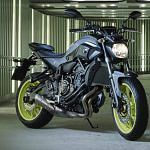 Yamaha MT-07 Moto Cage 'Night Fluo' (2016)