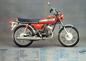 Yamaha RD125 (1974-75)