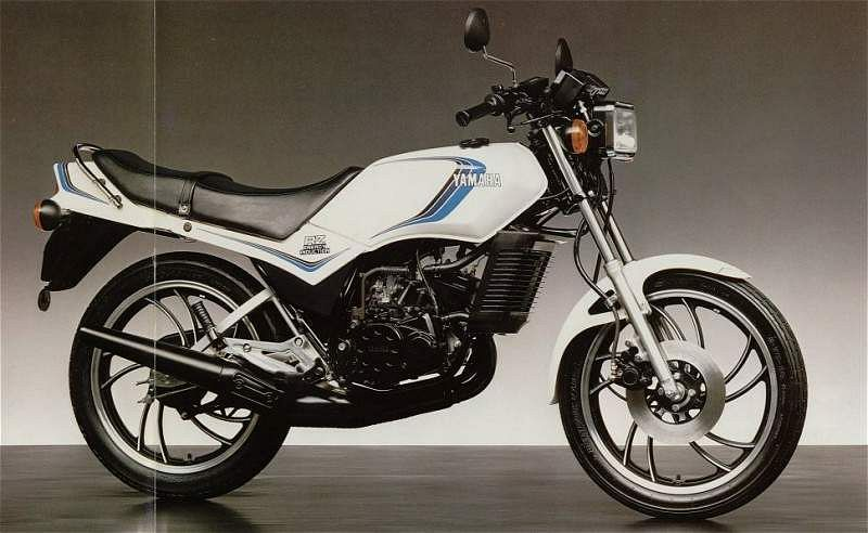 Remarkable Yamaha Rd125Lc 1981 82 Motorcyclespecifications Com Camellatalisay Diy Chair Ideas Camellatalisaycom