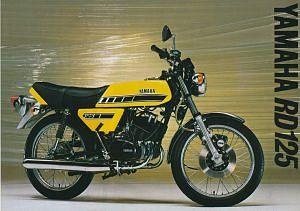Yamaha RD125 (1977)