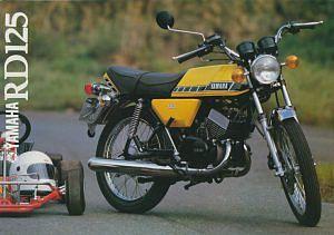 Yamaha RD125 (1979-80)